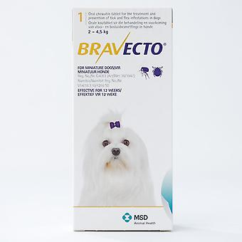 Bravecto 112mg  For Very Small Dogs 2-4kg (4.4-8.8lbs)