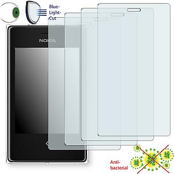 Nokia ASHA 503 dual SIM display protector - Disagu ClearScreen protector
