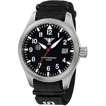 KHS horloges mens watch Airleader staal KHS. VOOR HET EERST UITGEZONDEN. NXT7
