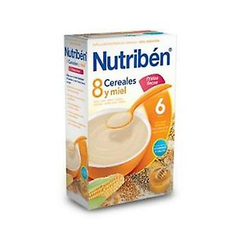 Nutribén 8 Cereals and Honey Nuts 600 Gr (Childhood , Healthy diet , Cereals)