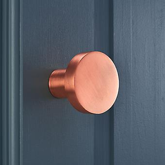 Contemporary Brushed Brass Copper Plated Wall Coat Hooks