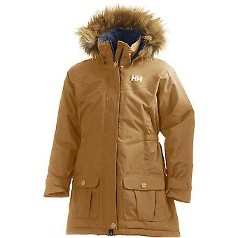 Helly Hansen Girls Stella Waterproof Breathable Faux Fur Parka Jacket