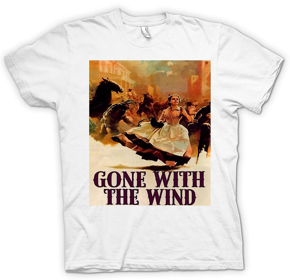 Mens t-shirt-Gone With The Wind - film classico