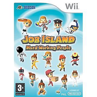 Baan eiland Hard werken mensen (Nintendo Wii)