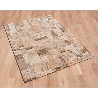 Galleria 079 0244 4848 groen goud blauwe rechthoek tapijten moderne tapijten