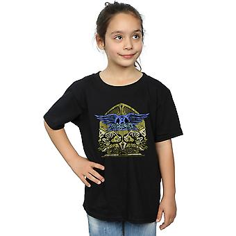 Aerosmith Girls Guitar Skeletons T-Shirt