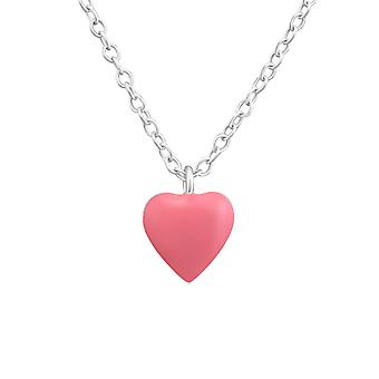 Heart - 925 Sterling Silver Necklaces - W37271x