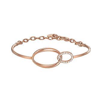 ESPRIT ladies bracelet cuff stainless steel Rosé ESBA11296C600