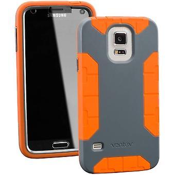 Ventev fortius tilfældet for Samsung Galaxy S5 - mørk grå/Orange