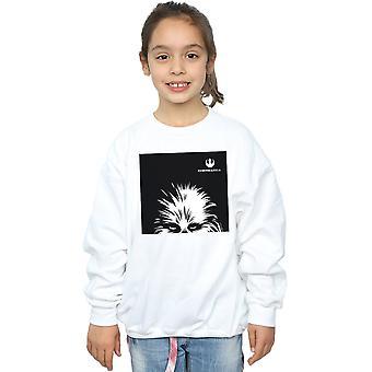 Star Wars piger Chewbacca Look Sweatshirt