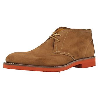 Mens Loake Oiled Suede Desert Style Lace Up Boots Lennox