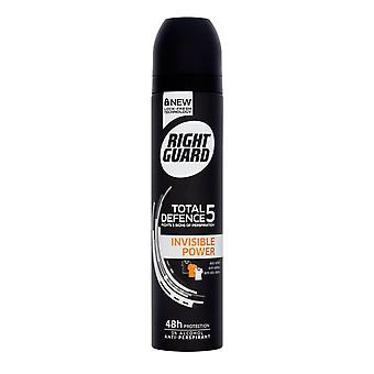 Right Guard Total Defence 5 Invisible Power Aerosol