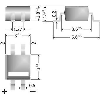 Diode bridge Diotec MYS250 MicroDIL 600 V 0.5 A