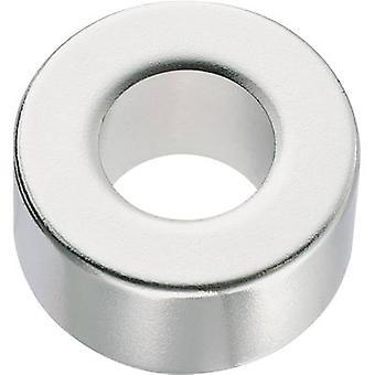 Conrad Components Permanent magnet Ring N35EH 1.2 T Temperature limit (max.): 200 °C
