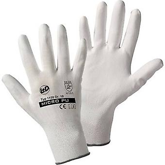 Nylon Protective glove Size (gloves): 10, XL EN 388:2016 CAT II L+D Micro-PU knitted 1150 1 pair