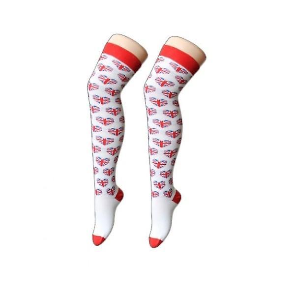 Union Jack Wear Ladies Union Jack Heart Socks