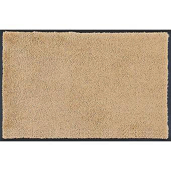 vask + tør oprindelige Sahara vaskes gulvet måtten sand-beige