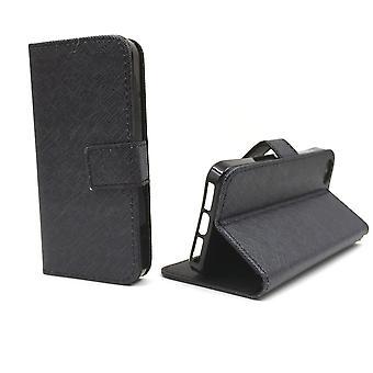 携帯電話ポーチを携帯電話アップル iPhone 5/5 s/SE ブラック