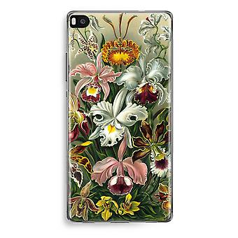 Huawei Ascend P8 Transparent Case (Soft) - Haeckel Orchidae