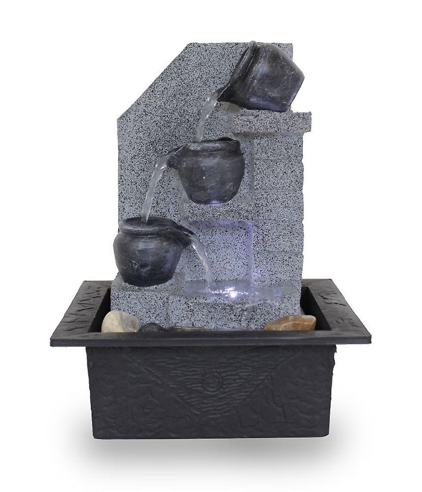Room table fountain FoMuraglia with LED 10862