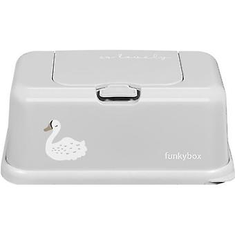 Funkybox Caja para Toallitas Grande  Cisne (Childhood , Diaper and changers , Wipes )