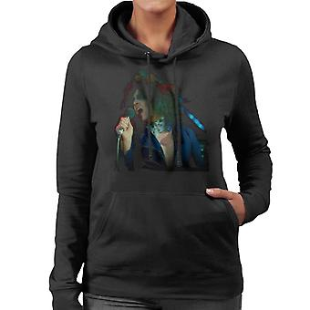 TV Times Marc Bolan Singing On Supersonic T Rex Women's Hooded Sweatshirt