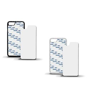 ONX3 Pack of 3 White Covers Heat Sublimation Blank Cases for Sony Xperia XZ1 Mini Phone Model