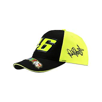 Valentino Rossi Yellow-Multi 46 The Doctor Kids Snapback Cap