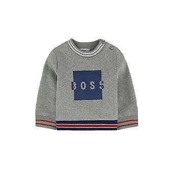 Hugo Boss Boys Hugo Boss Infants Grey Sweatshirt