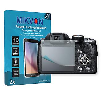 Fujifilm FinePix S4300 Screen Protector - Mikvon Armor Screen Protector (Retail Package with accessories)