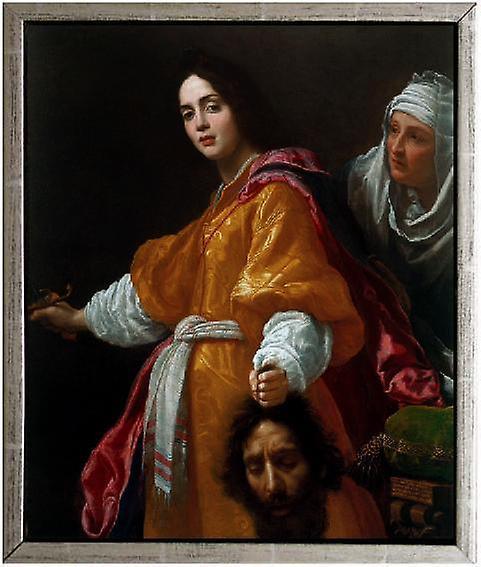 Med ram Judith and Holofernes,Cristofano Allori