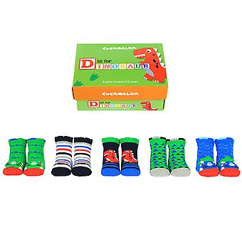 Cucamelon D Is For Dinosaur Gift Set For Toddlers