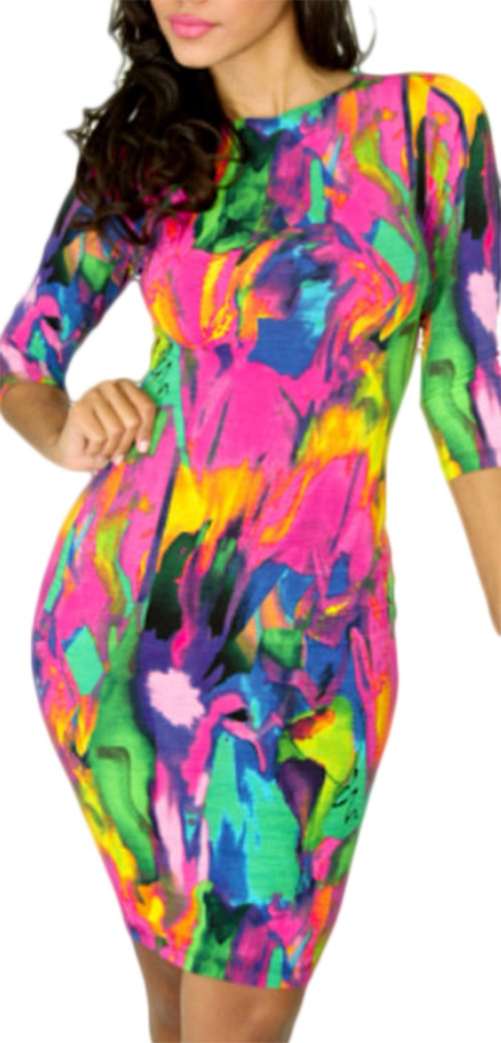 Waooh - Robe abstract pattern Ogus