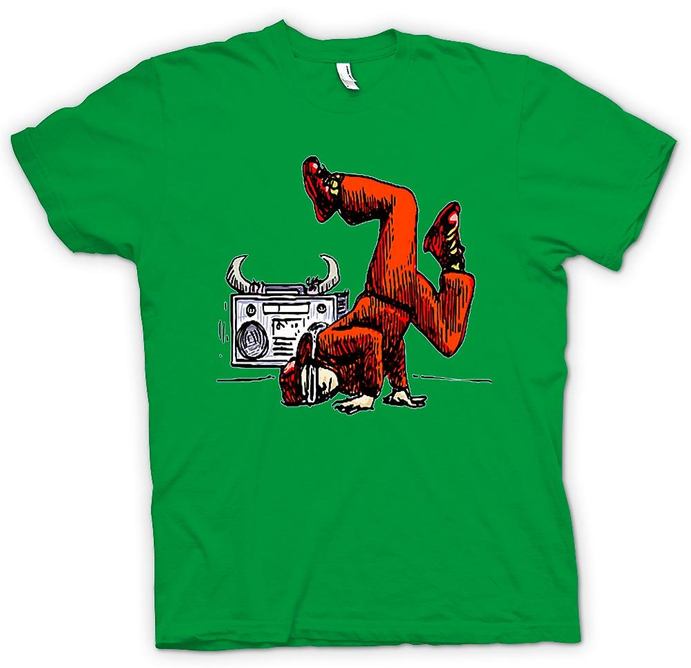 Camiseta para hombre - breakdance - Hip Hop - color