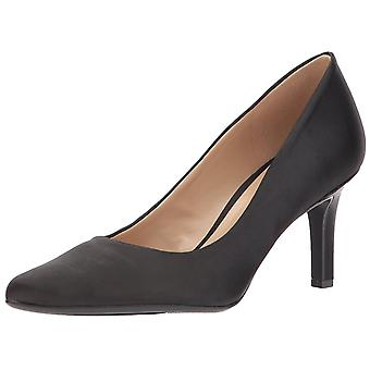 Naturalizer Womens Natalie Satin Pointed Toe Classic Pumps