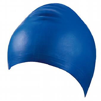 BECO Latex Adults Swimming Cap- Blue
