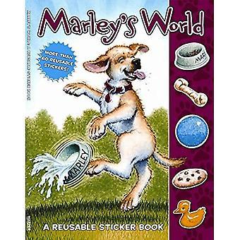 Marley's wereld herbruikbare Sticker Book (Marley-serie)