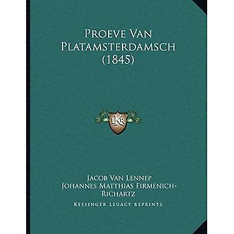 Proeve Van Platamsterdamsch (1845)