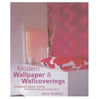 Papperstapeter och väggbeklädnad: att införa färg, mönster och struktur i ditt vardagsrum