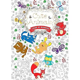 Cute Animals Us - Color by Numbers by Daisy Seal - Flame Tree Studio -