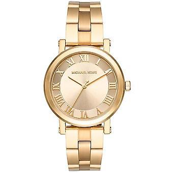 Michael Kors Norie damer Women 's Gold Tone Watch MK3560