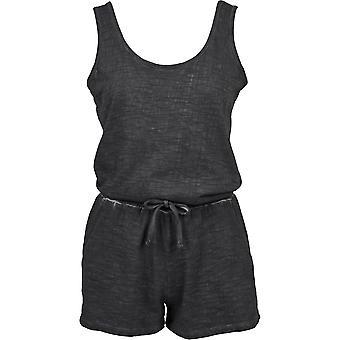 Urban classics ladies jumpsuit cold dye short