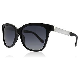 e82a670bfb3 Jimmy Choo Cora S FA3 Black   Glitter Cora s Cats Eyes Sunglasses Lens