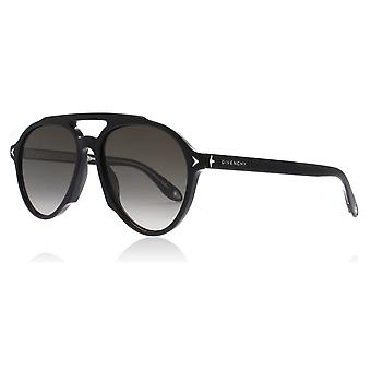 Givenchy GV7076/S 807 Black GV7076/S Pilot Sunglasses Lens Category 2 Size 56mm