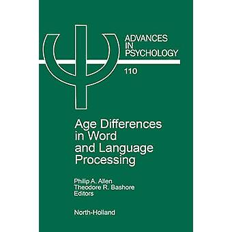 Altersunterschiede in Wort und Sprachverarbeitung von Allen & Lois
