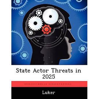 Statslige skuespiller trusler i 2025 ved Luker