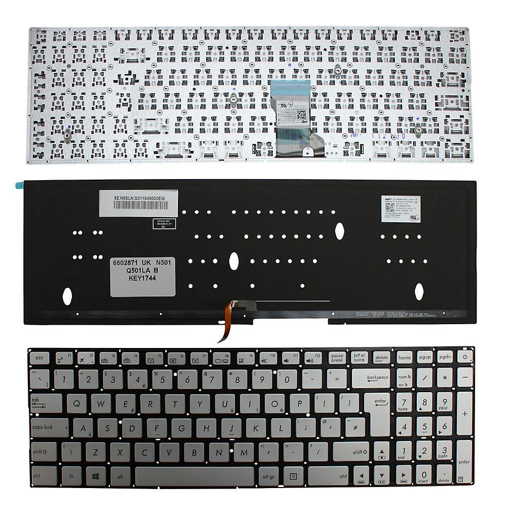 Asus 9Z. N8SBQ. S0U Windows 8 rétro-éclairé noir UK Layout remplaceHommest clavier d'ordinateur portable