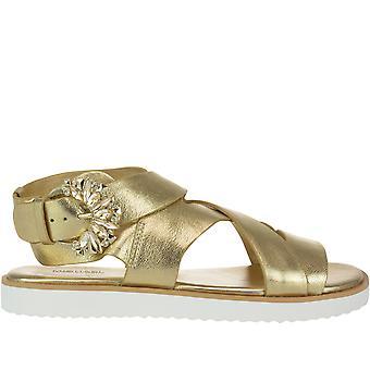 Michael Kors Gold Leather