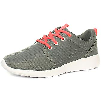 dek T880F Pluto Superlight Grey Womens Lace Up Trainers