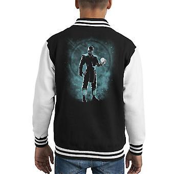 Sub Zero Ice Ninja Mortal Kombat Kid's Varsity Jacket